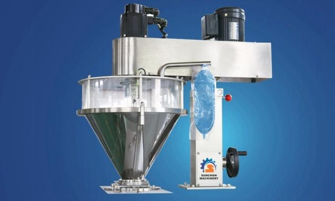 Semi Automatic Flour Packaging Machine / Deterjen Bubuk / Susu Kedelai Bubuk Kemasan Mesin