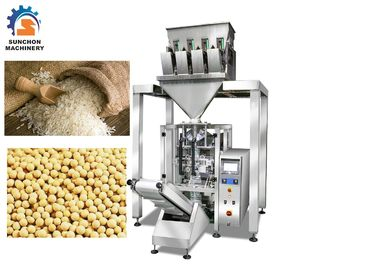 Cina CE Vetical Sugar / Seed Packaging Machine Dengan 4 Heads 1000ML Volume pemasok