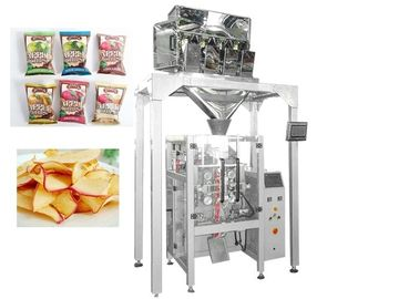 Cina Chips Multihead Weigher Packing Machine Electric Driven PLC Control pemasok