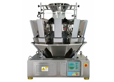 Cina Hopper 1.6L 10 Header Multihead Weigher, 65 Bags / Min Automatic Weigher pemasok