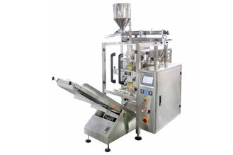 Mesin Kemasan Otomatis Stainless Steel, 250ML - 1500ML Plastic Bag Liquid Oil Filling Machine