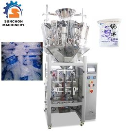 Cina Multihead Weigher Automatic Ice Cube Packing Machine Kontrol Simultan pemasok