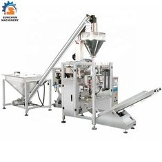 Masala / Medis / Moringa Powder Packing Machine Vertikal Otomatis