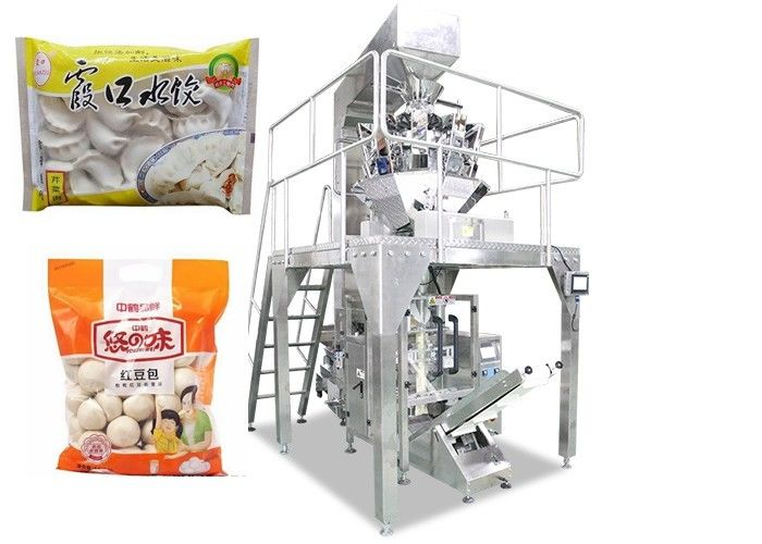 Multi-Function Food Packing Machine dengan PLC Control High Speed pemasok