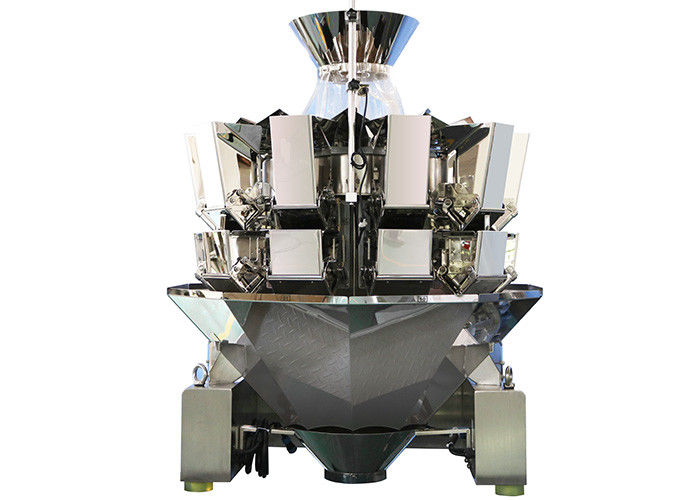 Reliable 10 Heads Combined Weigher, 1.3L Hopper Leak Proof Multi Timbang pemasok