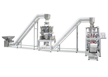 2 Kepala Linear Weigher 4 Kepala Linear Weigher Vertical Form Fill Seal Machine