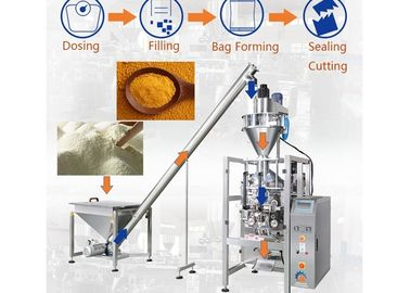 VFFS Automatic Coffee Powder Packing Machine, CE Auger Powder Filling Machine