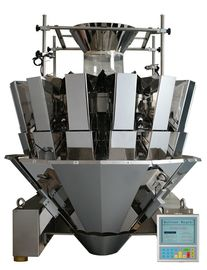CE 14 Head Weigher Untuk Produk Granul, Display Stepmotor Multi Head Machine